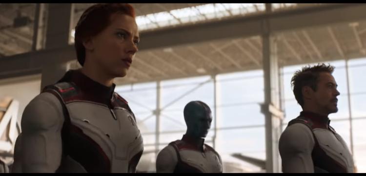 Avengers Endgame Walk