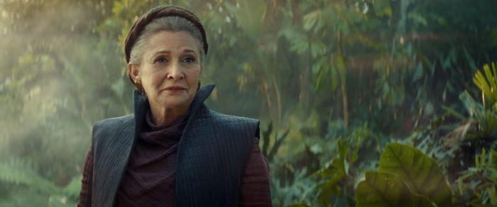 Leia Rise of Skywalker