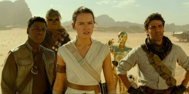 Main Characters Rise of Skywalker